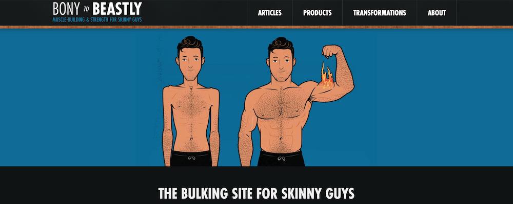 Bony to Beastly website