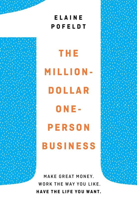 The million-dollar one-person business boek omslag
