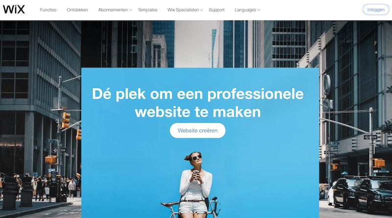Wix website maken