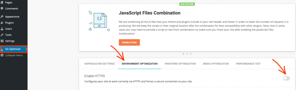 SSL inschakelen via WordPress met SiteGround.