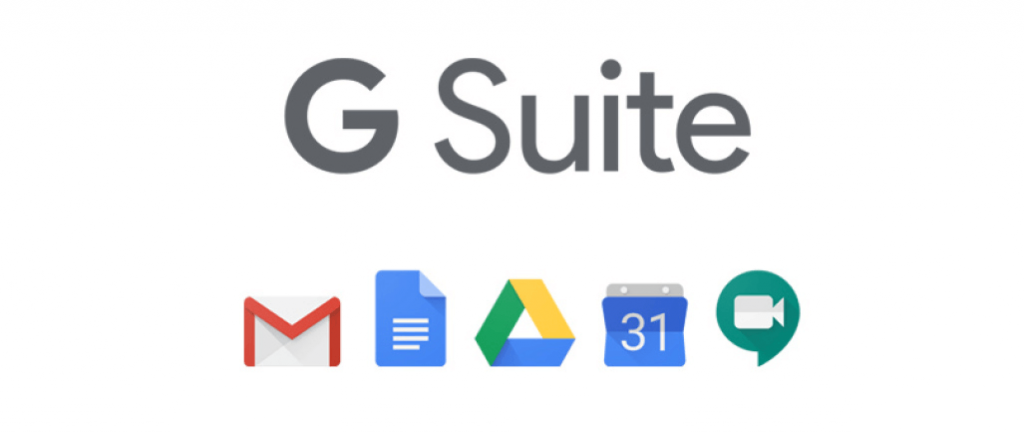 G Suite producten.