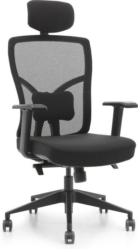 OVVIS Ergo luxe. Een zeer goede bureaustoel voor een zachte prijs.