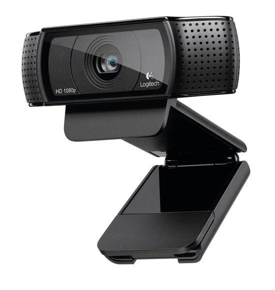 Logitech C920 HD Pro. De beste webcam voor je thuiswerkplek.
