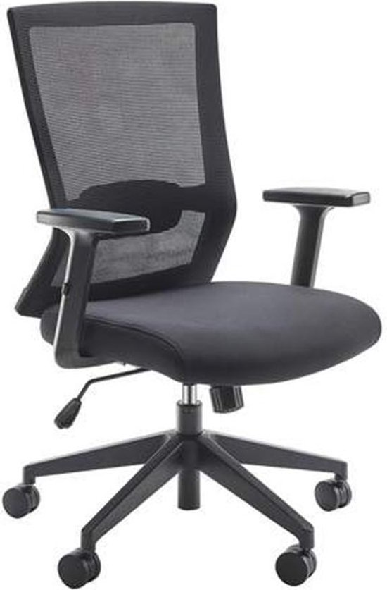 WeWork Ergonomische Bureaustoel - Bureaustoelen voor volwassenen - Office Chair Ergonomisch - Comfortabel Thuiswerken.