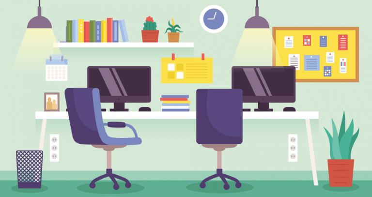 De beste 5 bureaus voor werkplekken thuis en kantoor [2021 update]