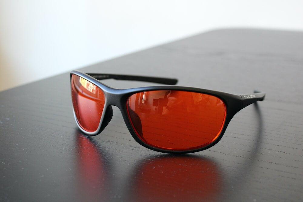Somnoblue slaapbril Pro, zelfgemaakte foto. Een goed product voor beter slapen