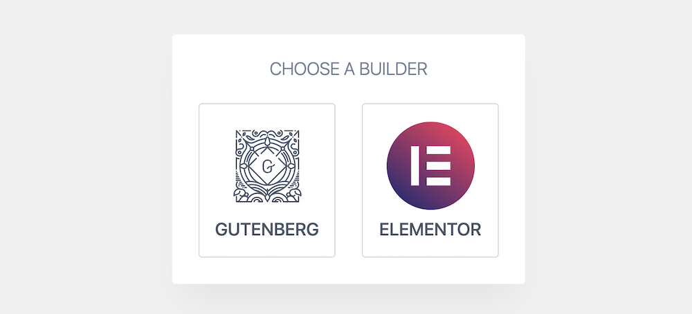 Kiezen tussen Gutenberg of Elementor