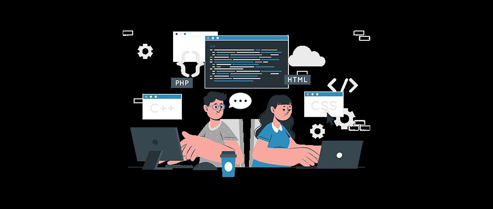 Websites coderen als beginner is veel werk
