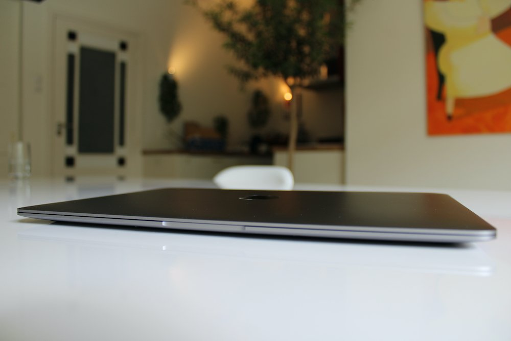 MacBook Air M1 - dichtgeklapt