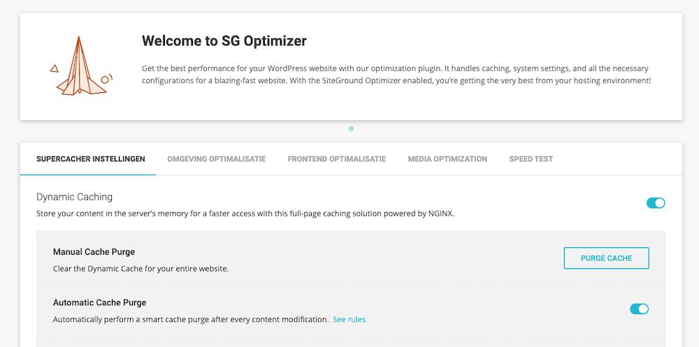 SG Optimizer plugin