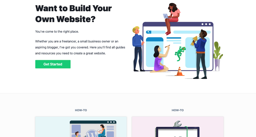 WebsiteGecko, een voorbeeld van goed website design