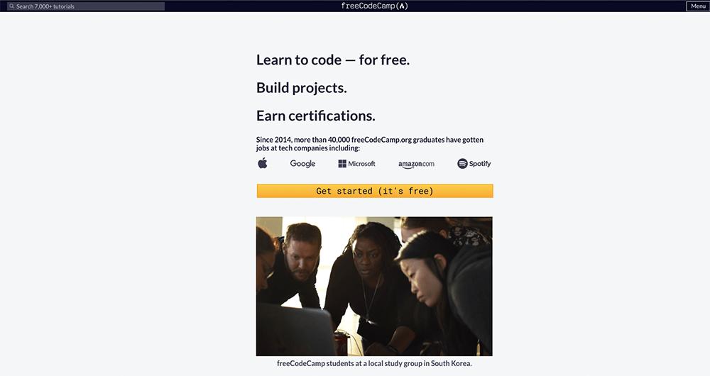 Duizenden gratis programmeer cursussen bij FreeCodeCamp