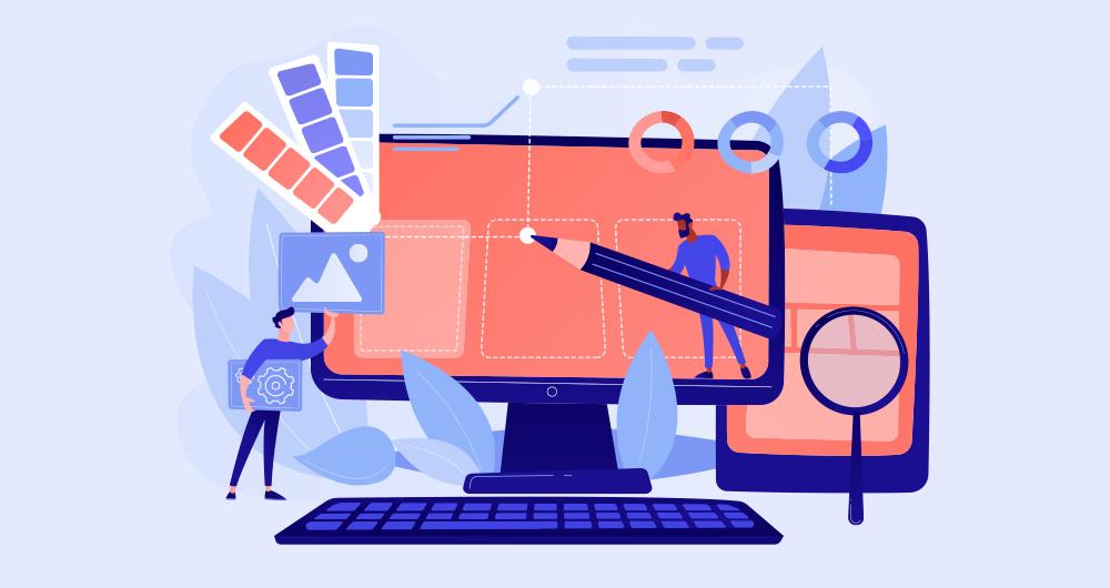 webkleuren kiezen in vier stappen