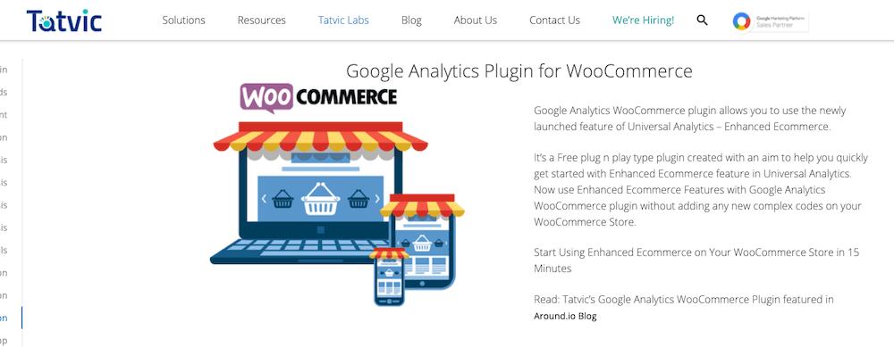 Enahnced Ecommerce Google Analytics Plugin